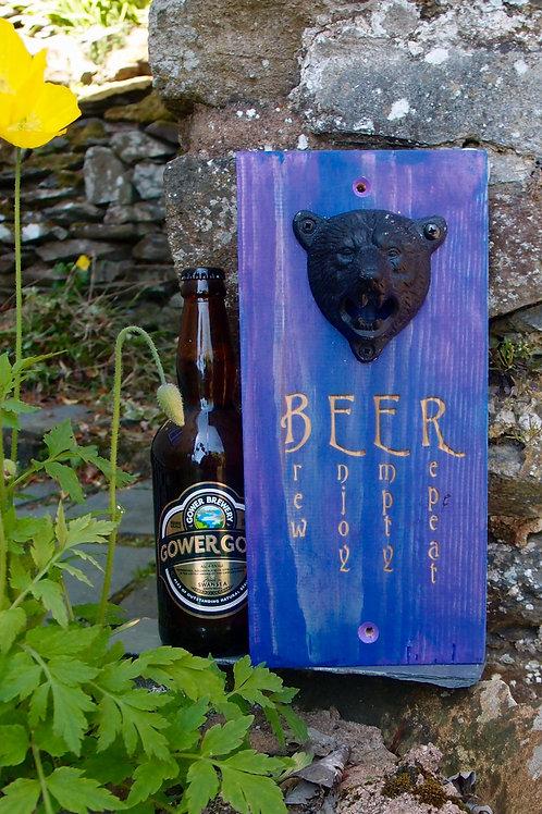 Bear Head Beer Bottle Opener