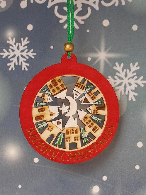 Circular town - Merry Christmas