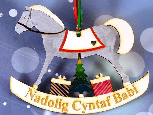 Nadolig Cyntaf Babi or Baby's 1st Christmas