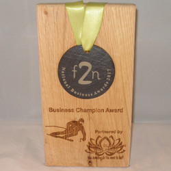 1) Business Champion Award partnered by White Blossom Therapy