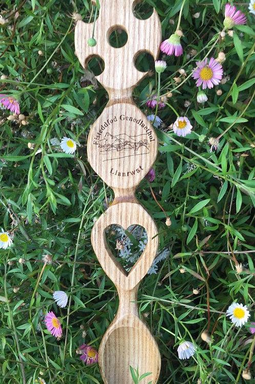 Eisteddfod Genedlaethol Llanrwst Cross spoon