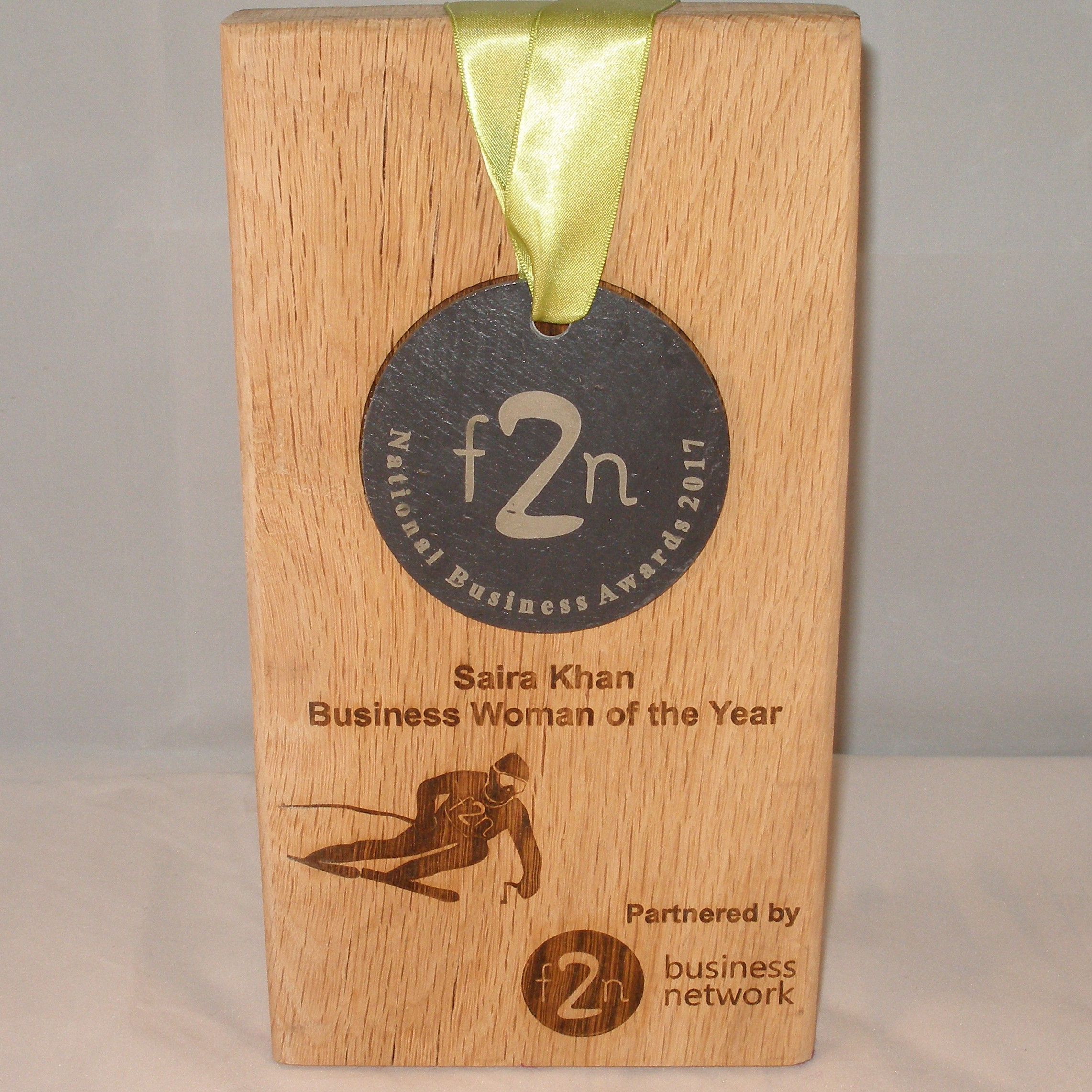 12) Saira Khan Business Woman of the Year Award