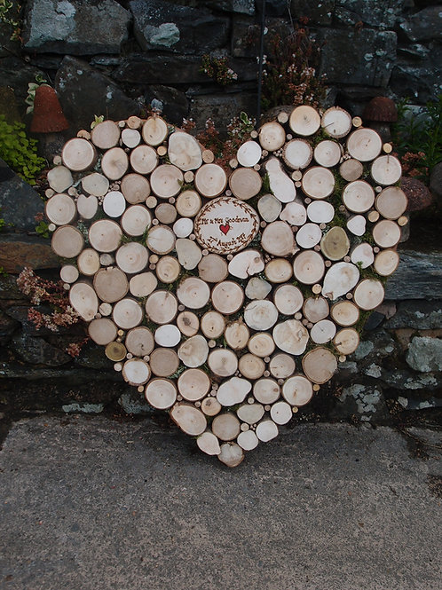 Heart Shaped guest book