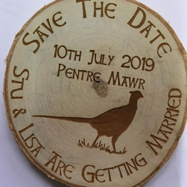 Save the date log slice