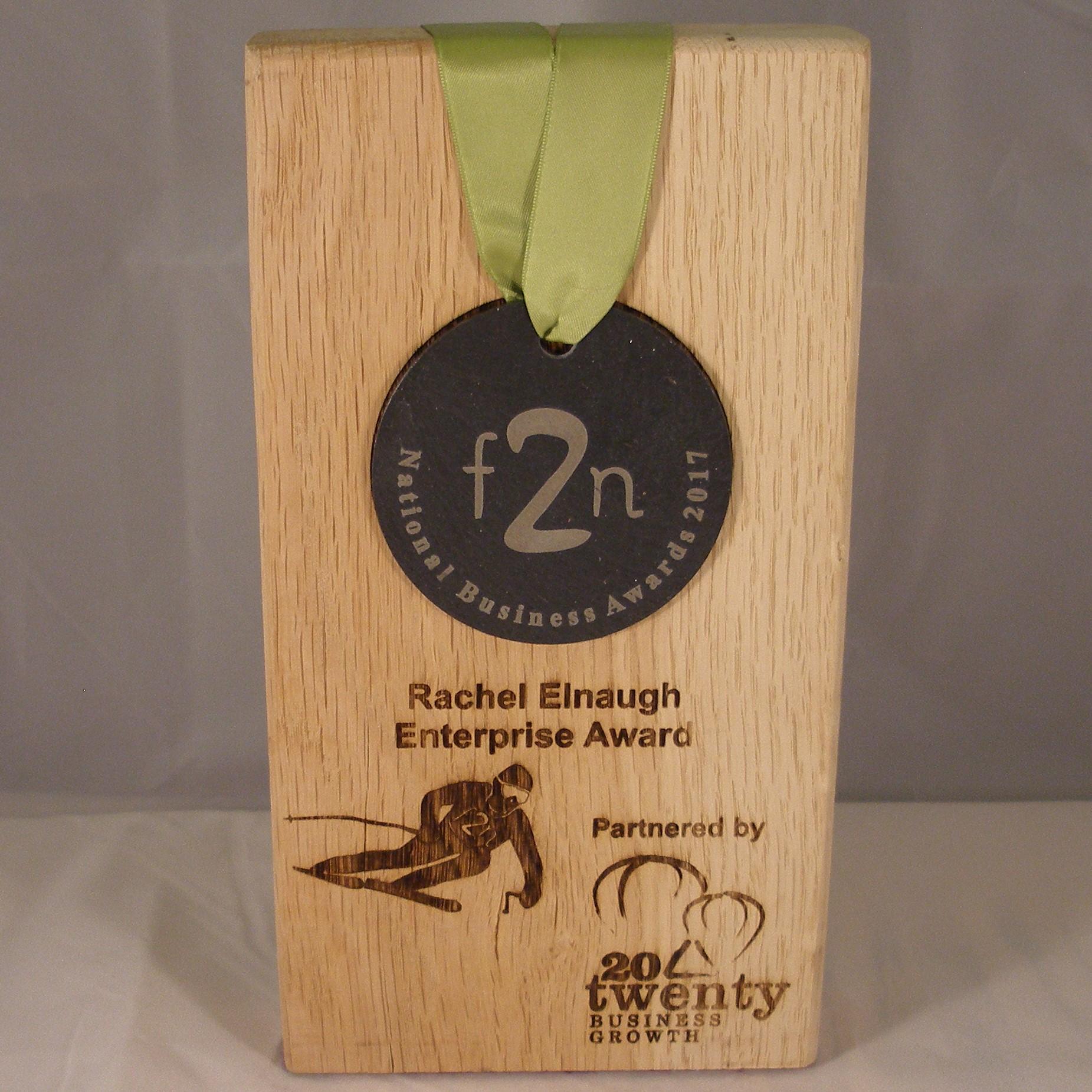 6) Rachel Elnaugh Enterprise Award