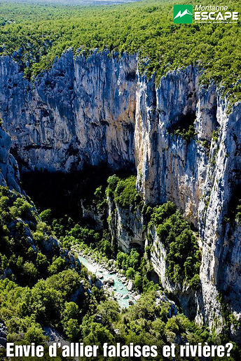 Montagne-escape Les gorges du Verdon
