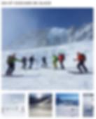 Ski et cascade de glace