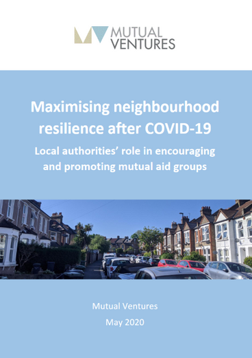 Local authorities can make mutual aid a positive legacy of COVID-19