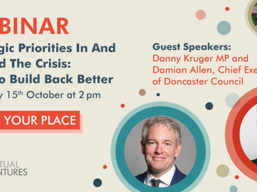 Join our next webinar – Strategic priorities in and beyond the crisis: how to build back bette