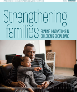 MV welcomes publication of the first issue of the Strengthening Families journal