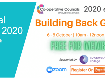 Building back better involves trusting local people – reflections on the CCIN conference