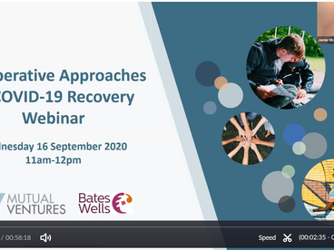 Catch up on our webinar: Co-operative Approaches to COVID-19 Recovery