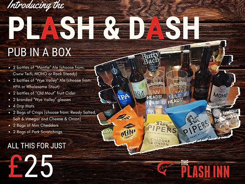 Plash & Dash | Pub in a Box