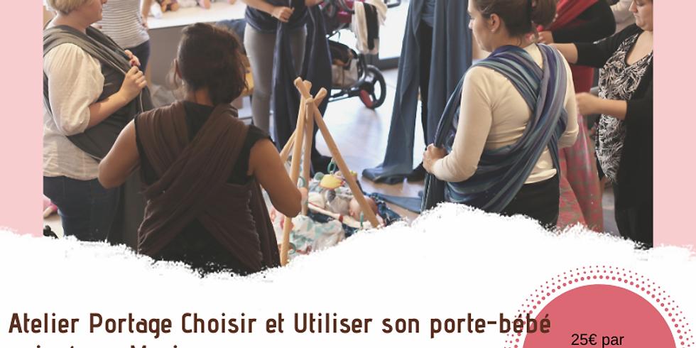 Atelier Choisir et utiliser son porte-bébé