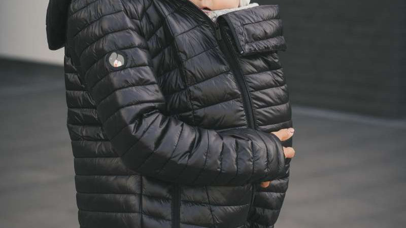 Manteau de portage noir Limas
