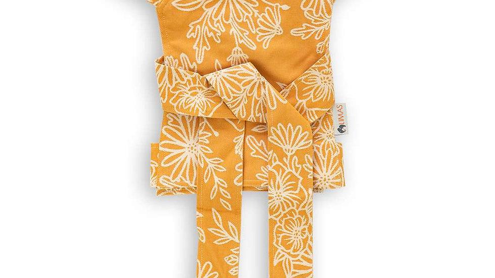 Mei tai porte-poupon Limas Blossom Summer gold
