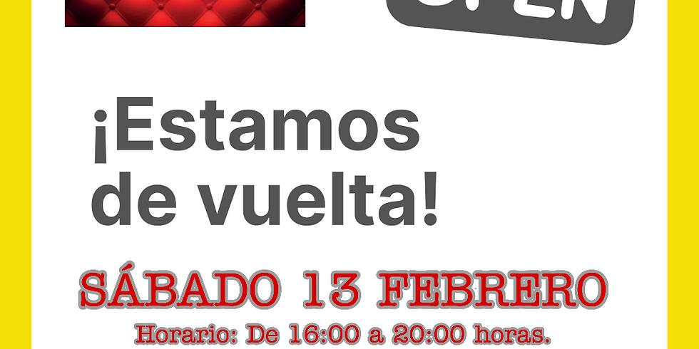 SÁBADO 13 - ¡ESTAMOS DE VUELTA!