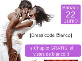 "SÁBADO 22-""FIESTA BLANCA"" en San Juan."