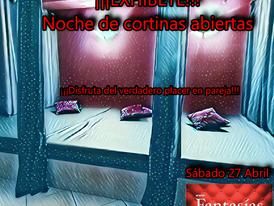 SÁBADO 27-¡¡¡EXHÍBETE!!! Noche de cortinas abiertas