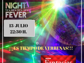 SÁBADO 13 - SWINGER NIGHT FEVER (70/80/90/00)