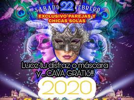 SÁBADO 22 - CARNAVAL 2020