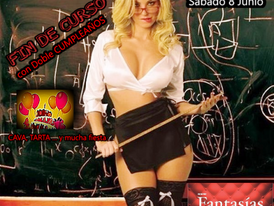 SÁBADO 8 -¡¡¡FIESTÓN FIN DE CURSO…con DOBLE CUMPLEAÑOS!!!