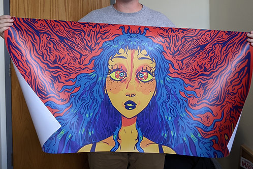 4 ft by 2 ft Poster