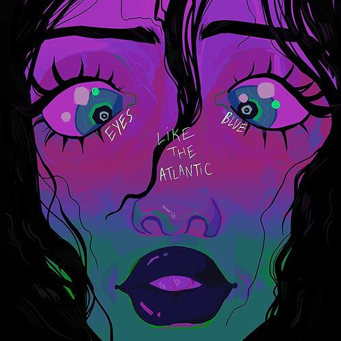"4"" by 4"" Eyes Blue Like the Atlantic #1"