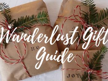 Wanderlust Gift Guide 2018