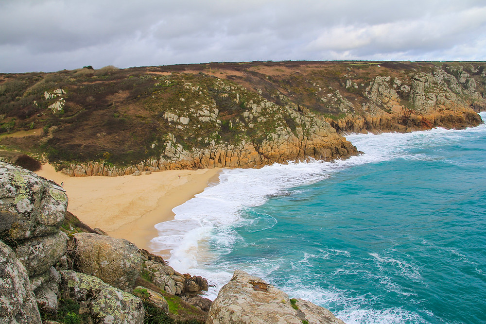 Porthcurno Beach Cornwall