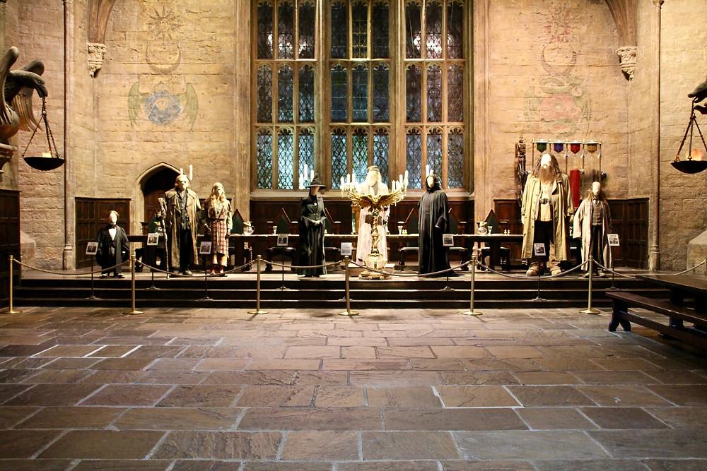 Great Hall at Hogwarts
