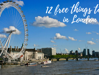 12 Free things to do in London