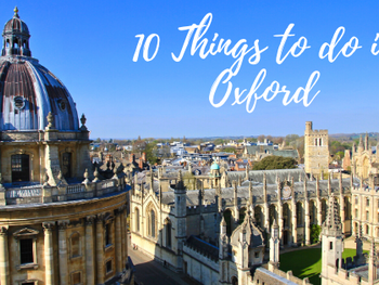 10 Things to do in Oxford