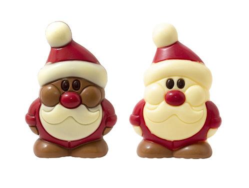 Belgian Chocolate Santa