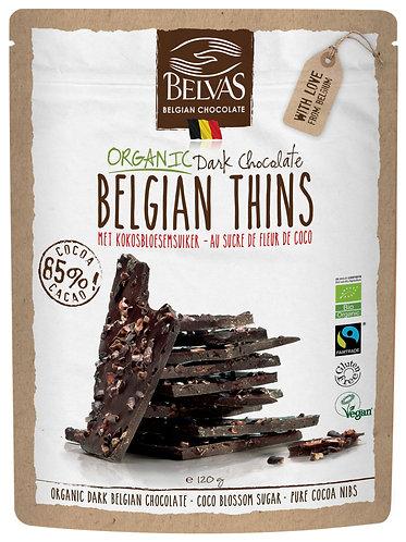 Organic & Fairtrade & Gluten Free  & Vegan 85 % Dark chocolate chips