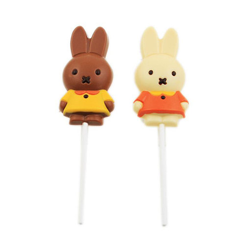 Miffy Lollipop - White chocolate -