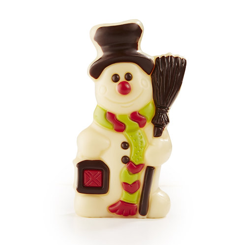 Belgian Chocolate Snowman