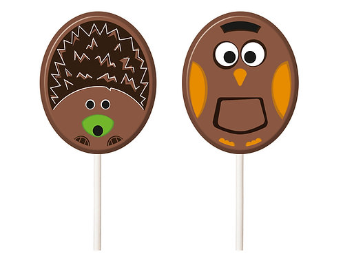 Hedgehog Lollipop