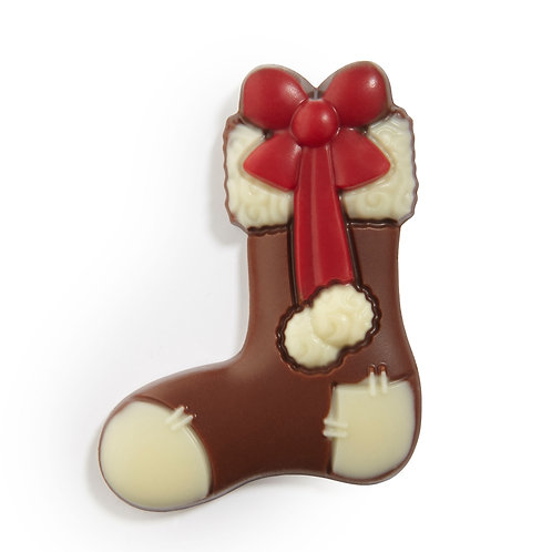 Belgian Chocolate Stocking - 6 pcs in pvc box