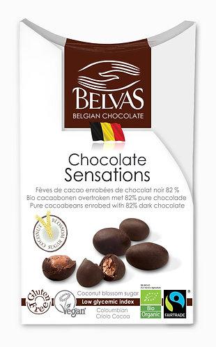Organic & gluten free & vegan & fairtrade Belgian Choc sensations
