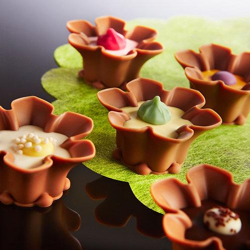 Belgian Chocolate Blossom gift box 9 pcs