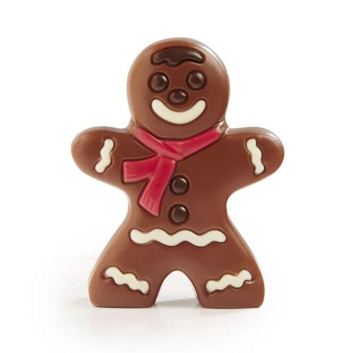 Belgian Chocolate Gingerbread Man
