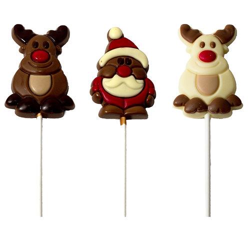 Santa Lollipop
