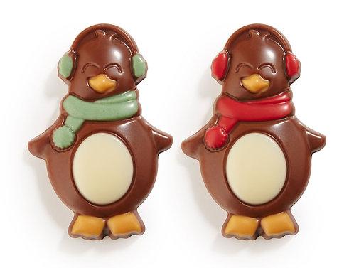 Belgian Chocolate Penguins - 4 pcs in gift box