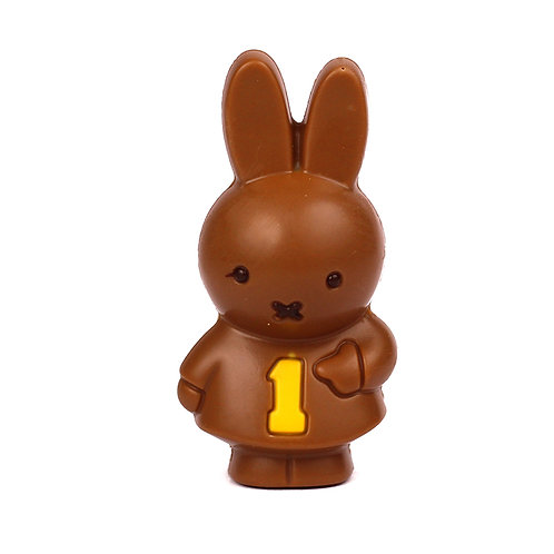 Miffy n1 and 1 Belgian chocolate