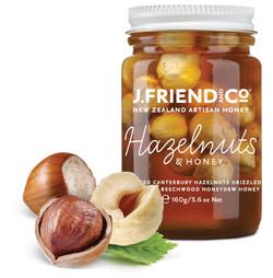 Hazelnut & honey