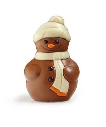 Belgian Chocolate Snowman