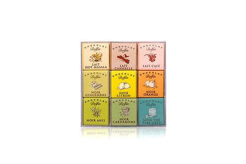 Spice box x 9 pcs - 9 flavours