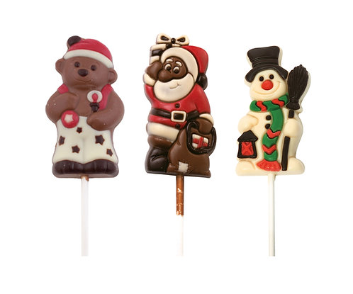 Snowman Lollipop