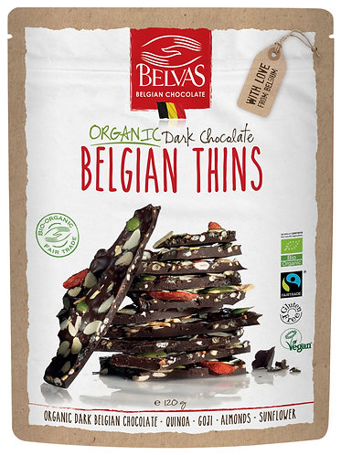Organic & Fairtrade & Gluten Free  & Vegan 60 % Dark chocolat chips